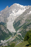вертикаль mont blanc Стоковые Изображения