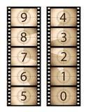 вертикаль sepia пленки комплекса предпусковых операций Стоковое Фото