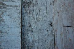 Вертикальная белая деревянная текстура Стоковая Фотография RF