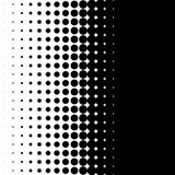 Вертикальная картина с точками - Monochrome textu полутонового изображения полутонового изображения Стоковая Фотография