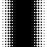 Вертикальная картина с точками - Monochrome textu полутонового изображения полутонового изображения иллюстрация штока