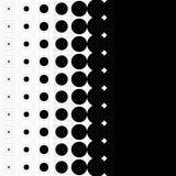 Вертикальная картина с точками - Monochrome textu полутонового изображения полутонового изображения Стоковое Фото