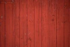 Вертикальная красная предпосылка доск и планок амбара Стоковое Изображение RF