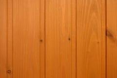 Вертикальная стена обшивая панелями деревянную текстуру Стоковое фото RF