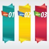 Вертикальное знамя. Стоковая Фотография