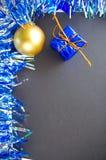 Вертикальное изображение для поздравительной открытки Нового Года, скидки или шаблона знамени продаж, модель-макета Стоковое Фото