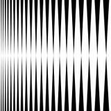 Вертикальные линии, нашивки - параллельные прямые линии от толщиной к иллюстрация вектора