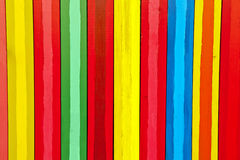 Вертикальные красочные доски Стоковое Изображение RF
