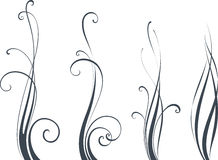 Вертикальный дизайн переченя Стоковые Фотографии RF