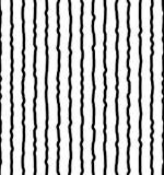 Вертикальный солдат нерегулярной армии, рука нарисованные линии Repeatable картина Стоковые Изображения