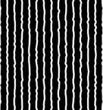 Вертикальный солдат нерегулярной армии, рука нарисованные линии Repeatable картина Стоковая Фотография
