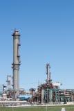 Вертикаль нефтехимического завода Стоковое Изображение