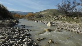 вертикаль реки панорамы горы 3 изображений hdr акции видеоматериалы