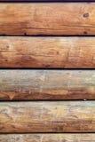 Вертикаль стены бревенчатой хижины Стоковые Изображения