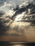 Вертикаль Skyblast Стоковое Изображение RF