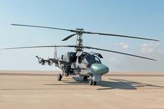 Вертолет боя Ka-52 Стоковая Фотография