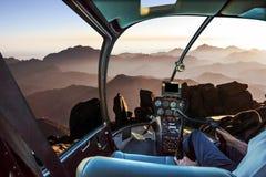 Вертолет горы Синай Стоковое Изображение RF