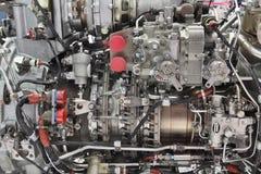 вертолет двигателя стоковое фото rf