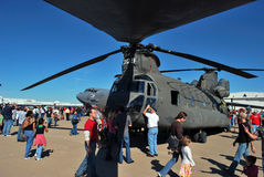 вертолет дисплея Стоковое Изображение