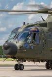 Вертолет общего назначения подъема RAF AgustaWestland Мерлина HC3 EH-101 ZK001 военно-воздушных сил Великобритании средств Стоковая Фотография
