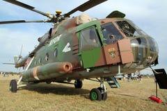 Вертолет перехода Mil Mi-17 военновоздушной силы словака Стоковое Изображение RF
