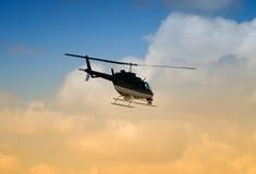 вертолет полета Стоковое Изображение RF