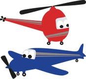 вертолет самолета Стоковые Фотографии RF