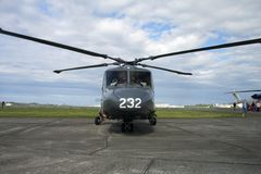 вертолет службы береговой охраны Стоковое Изображение