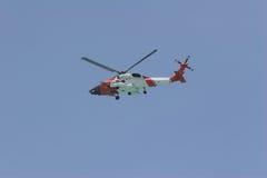 вертолет службы береговой охраны Стоковая Фотография RF