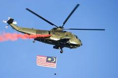 вертолет флага Стоковые Фото