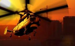 вертолет иллюстрация штока