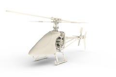 вертолет 3d представил игрушку Стоковое фото RF