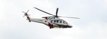 Вертолет Agusta Westland AW149 воинский для польской армии стоковое изображение