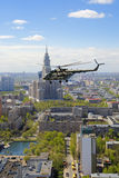 8 вертолет mi Стоковая Фотография