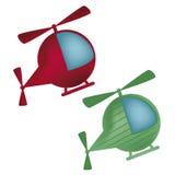 2 вертолета бесплатная иллюстрация