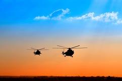 Вертолеты перехода Стоковое Изображение RF