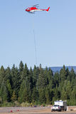 Вертолеты пожарного Стоковое фото RF