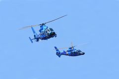 Вертолеты стоковые изображения