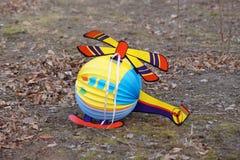 Вертолет в листве Стоковые Изображения