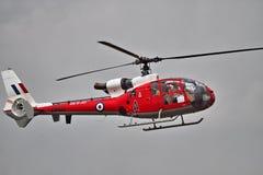 Вертолет газеля Westland на airshow Стоковые Изображения