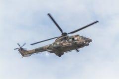 Вертолет на авиасалоне Стоковые Фото
