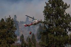 Вертолет огня Стоковые Фотографии RF