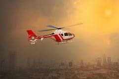 Вертолет перехода Стоковые Изображения