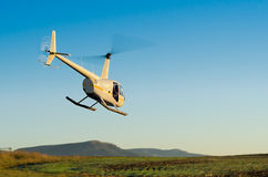 вертолет принимает Стоковая Фотография RF