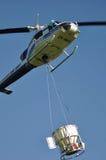 Вертолет принимая  Стоковое Изображение