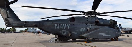 Вертолет дракона моря MH-53E Стоковая Фотография