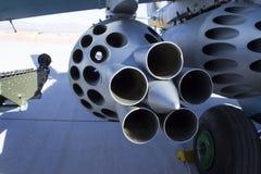Вертолет русского шкафа ракеты Стоковые Фотографии RF