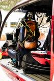 Вертолет спасения стоковые изображения rf