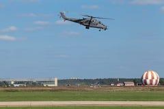Вертолет Mi-35 Стоковые Фото