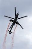 Вертолет Mi-24 Стоковые Фотографии RF